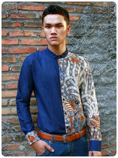 Mavazi summer menswear - Surakarta's batik classic pattern in simplicity