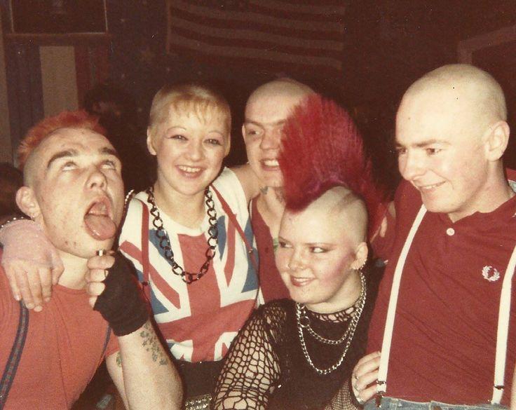 Carlisle punks and skins, mid-80s