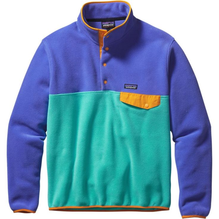 Patagonia Lightweight Synchilla Snap-T Fleece Jacket - Men's Howling Turquoise