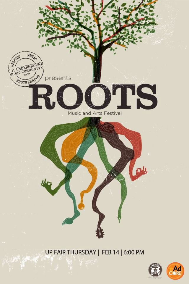 Roots Music and Arts Festival poster