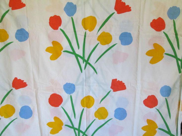 I Had Marimekko Towels In This Pattern, Growing Up. Vintage Marimekko  Shower Curtain Bright