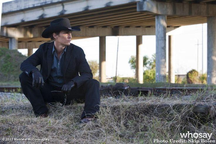 "Matthew McConaughey's, photo,""Happy Monday...last week of filming on KILLER JOE, here…"""