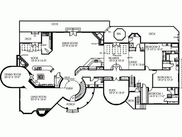 Mansions & More - Luxury Homes of The 1%: Contemporary Mansion w/ Floor Plans