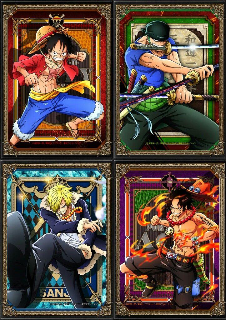 Luffy/Zoro/Sanji/Ace