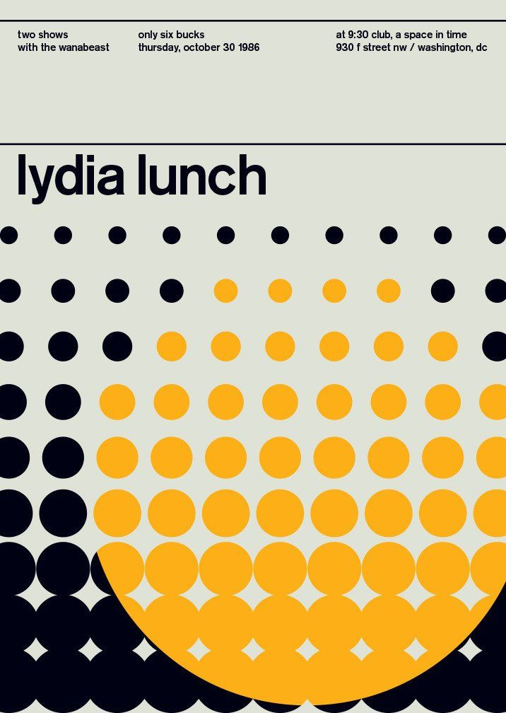 Legends Series: Lydia Lunch, 1986