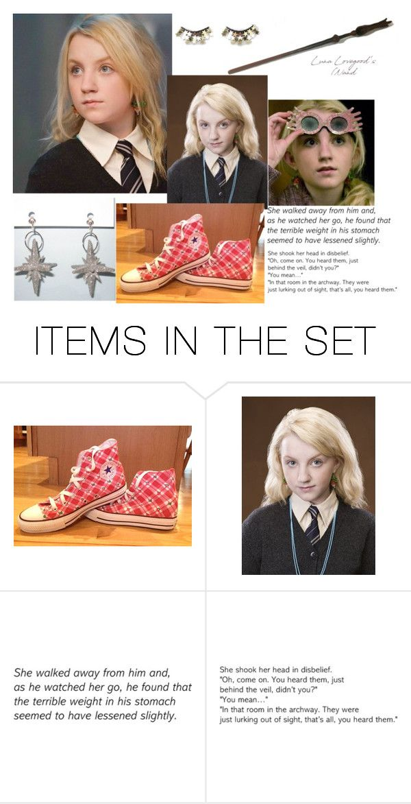 """""""Luna Lovegood"""" by fashionpolyvore112num2 on Polyvore featuring art"""