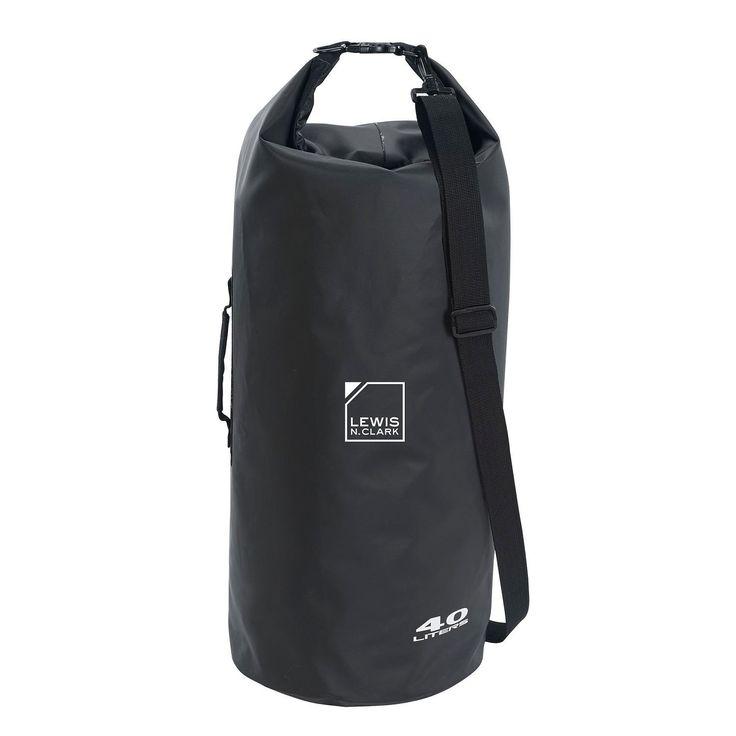 Lewis N Clark Heavy-Duty Dry Bag 40L Black
