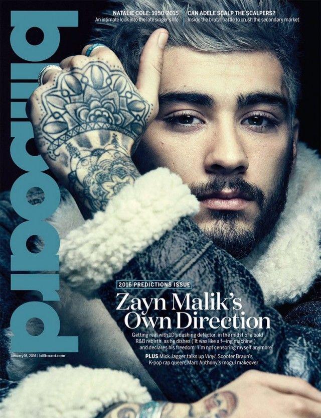 Zayn Malik Billboard Cover