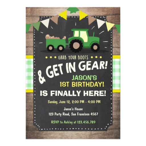 best 25+ farm party invitations ideas on pinterest | farm party, Birthday invitations