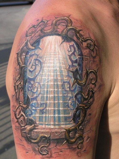 3D Tattoo Designs | Counter Tattoo: 3D Tattoos