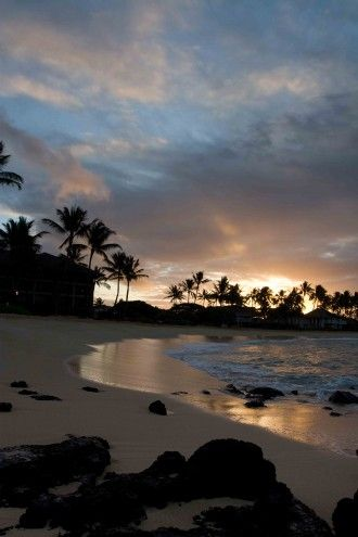 Poipu Beach, Kauai, Hawaii Beautiful Places Photography