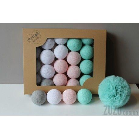 Cotton Balls Mariposa