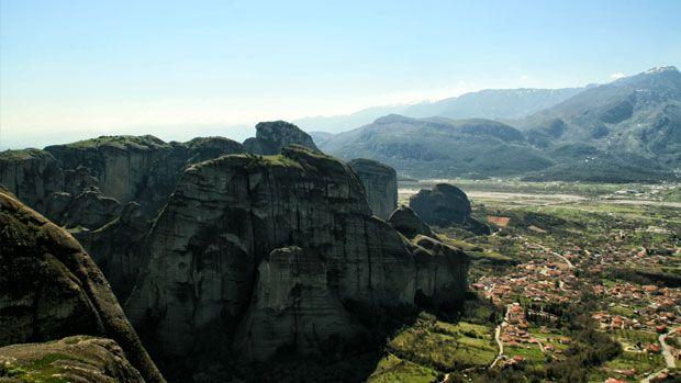 Giorno#7 - La vista dall'alto – monastero Megalo Meteoro #Meteora