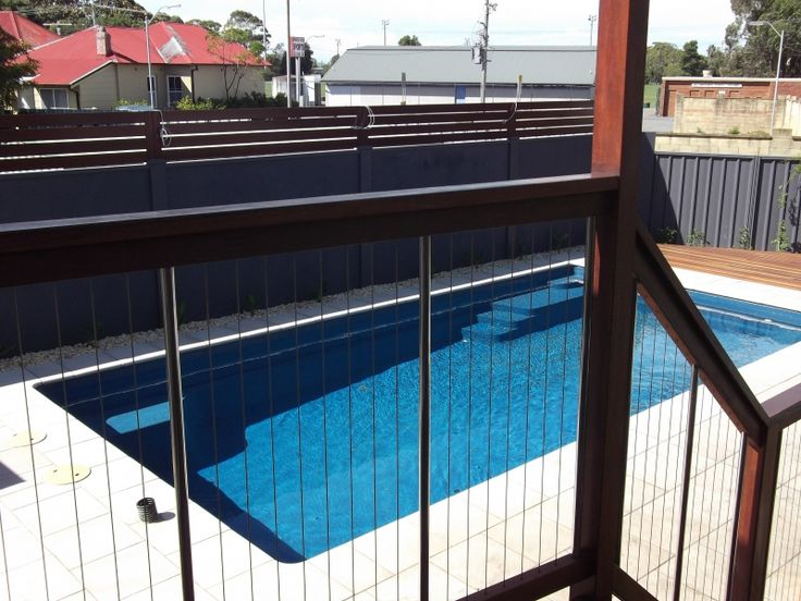Sentrel Vertical Cable Pool Fencing