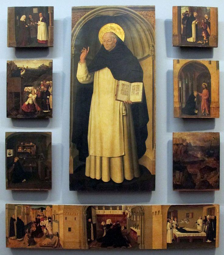 Galleria Napoletana (Museo di Capodimonte). Colantonio, св. Винченцо Феррер и его рассказы, 1460 г.