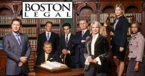 Autographed Collectibles From TV Show Boston Legal