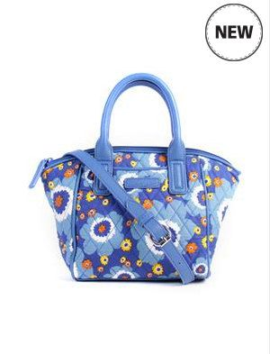 New! Quilt Handmade Women Shoulder Bag in Blue  Free Shipping Worldwide by…