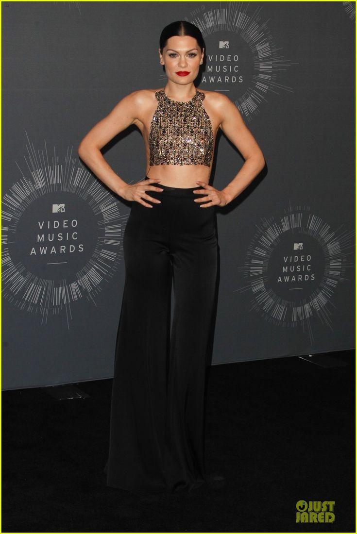 Jessie J at  the VMAs Press Room! |