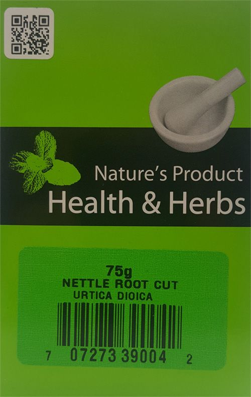 Natures Product Health & Herbs Nettle Root Cut 75g Urtica Dioica