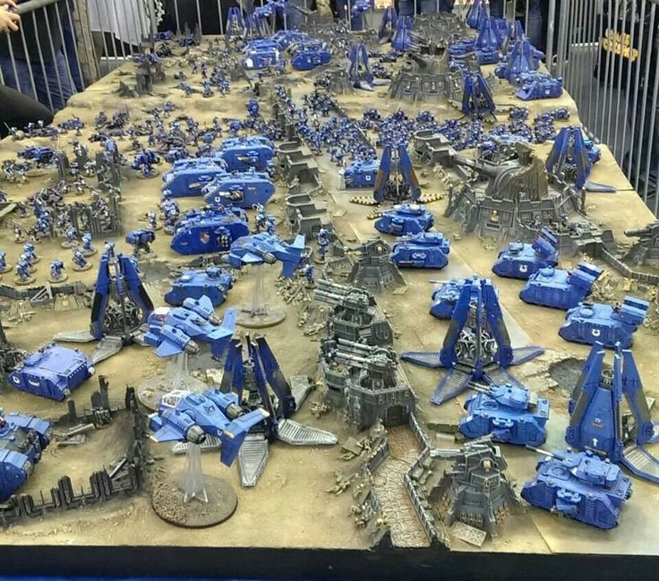 Ultramarines (Pin 4000 to this board and still growing