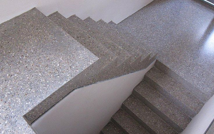 Polished concrete stairs google stairs for Best way to polish concrete