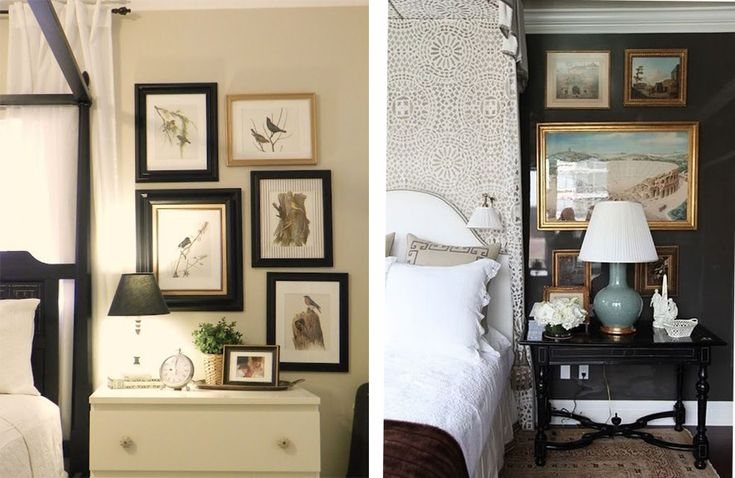 How To :: Design tips for a bedroom with off-center windows | something lovely