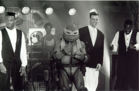 Will Vanilla Ice be ninja, ninja rapping in the new Ninja Turtles reboot? It's possible. Or, at least, that's what could be discerned from his (non) comments in a new interview. The rapper-turned-actor-turned home remodeler, whose real name is Robert Van Winkle, appears in next week's That's My Boy and was recently discussing his Teenage Mutant Ninja Turtles fandom with MTV. He then refused to comment when asked about possible involvement with the new film, which will reportedly start…