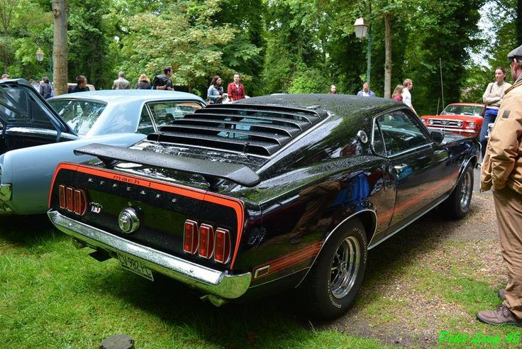 Mennecy Dream Car : Ford Mustang Mach 1
