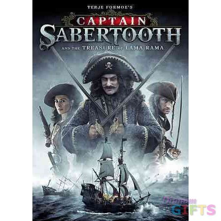 CAPTAIN SABERTOOTH & THE TREASURE OF LAMA RAMA (DVD) (WS/DOL DIG 5.1))