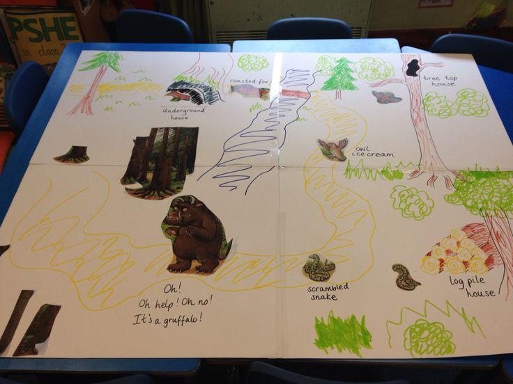 Gruffalo beebot map | Gruffalo | Pinterest | Maps