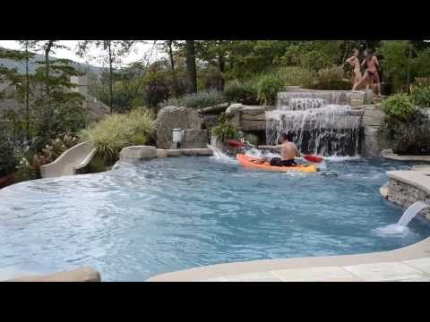 Ask you pool designer to create a custom design for your fibreglass pool project