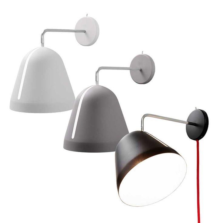 113 best wandlampen images on pinterest - Wandlampe schwenkbar ...