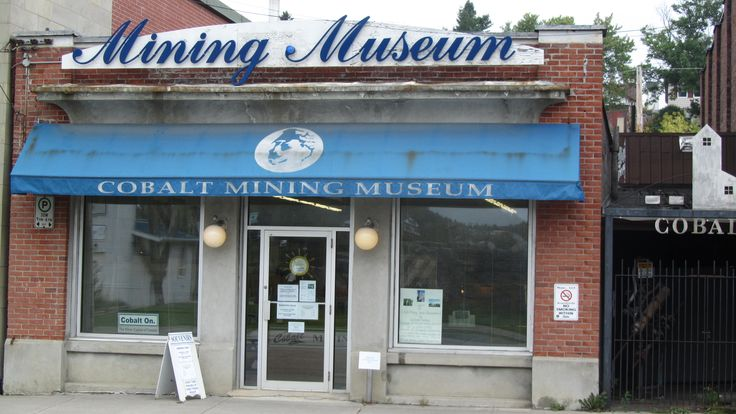 The Cobalt Mining Museum. The museum has an amazing collection of period pieces, including mining equipment, and those other little things you need - like a telephone exchange from the 1930s.