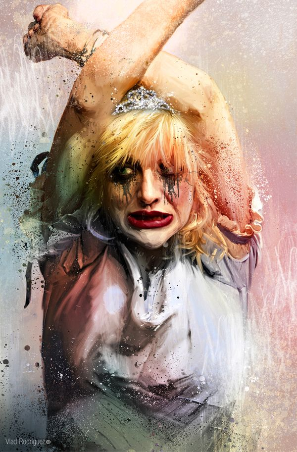 Vlad Rodriguez, captures the essence of Courtney Love. I like it.