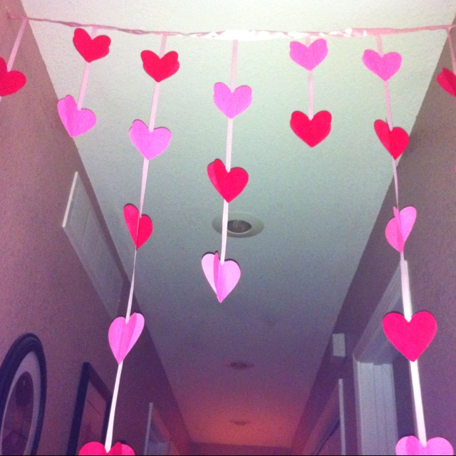 Post It Valentine Door Hanger I Just Made. Walmart Had A 2 Pack Of