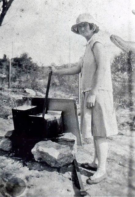 Washing Day at Faulconbridge by Blue Mountains Library - Local Studies, via Flickr