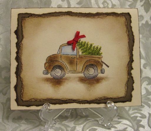 Loads of Love Christmas Tree by lpratt - Cards and Paper Crafts at Splitcoaststampers