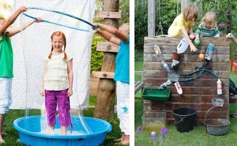 Las 25 mejores ideas sobre juegos de agua para ni os en for Aprendemos jugando jardin infantil