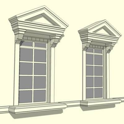 156 best images about paul and laura on pinterest cast for Exterior window pediments
