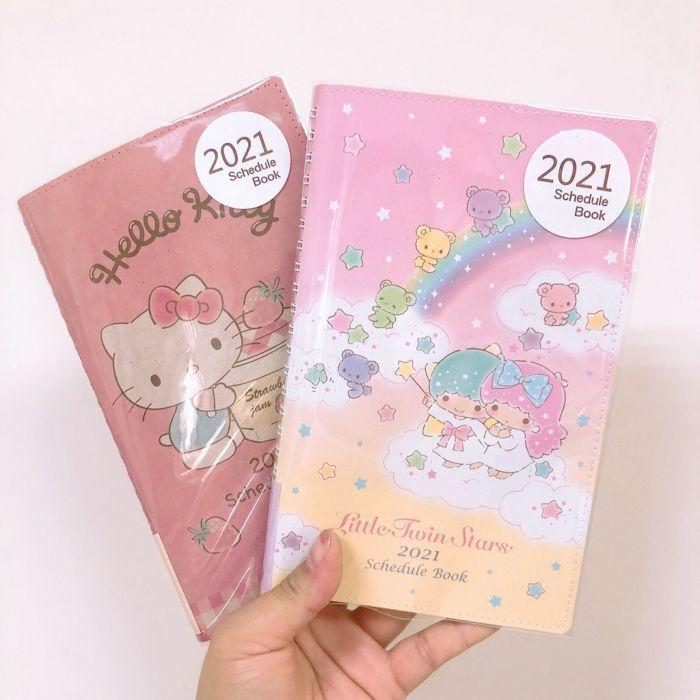 2021 Schedule Book Disney Alice in Wonderland B6 Japan NEW