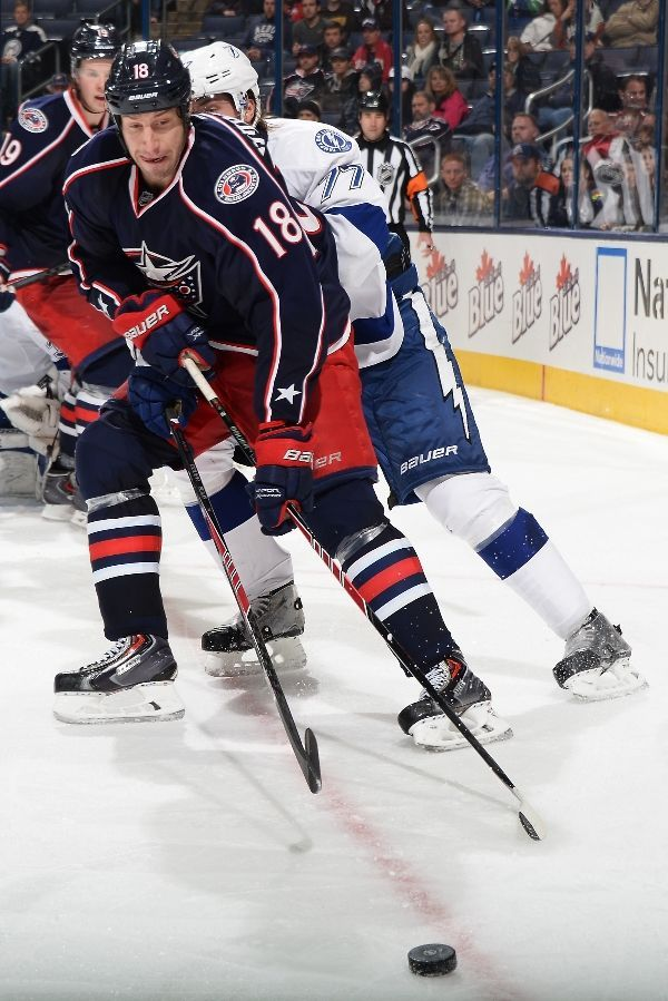 80 best Columbus Blue Jackets images on Pinterest | Hockey players ...