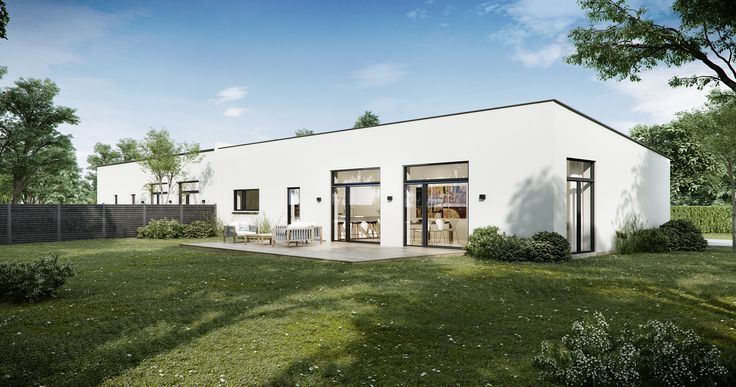 Housing project in Denmark #3D-Vizual, #Architecture #3dvisualizations #render #exterior