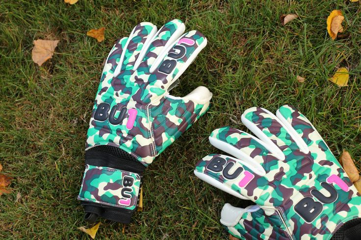 BU1 Army NC Football Goalkeeper Gloves