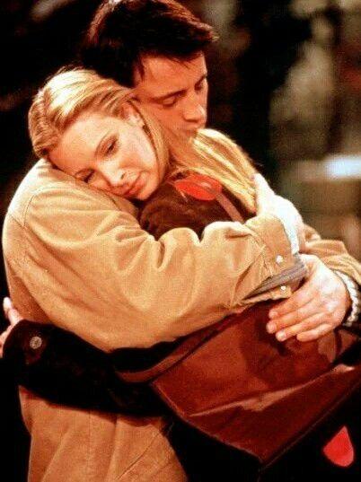 Joey Tribbiani and Phoebe Buffay