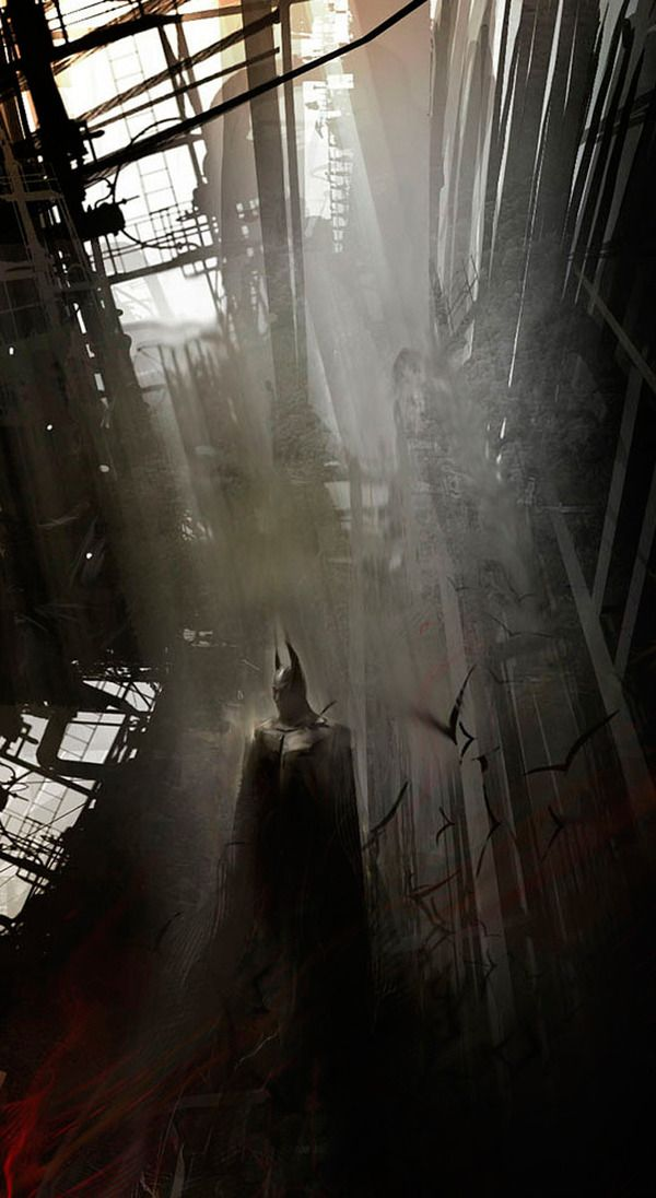 Batman comic book character art created by concept artist Eduardo Peña #dccomics #comics #batman
