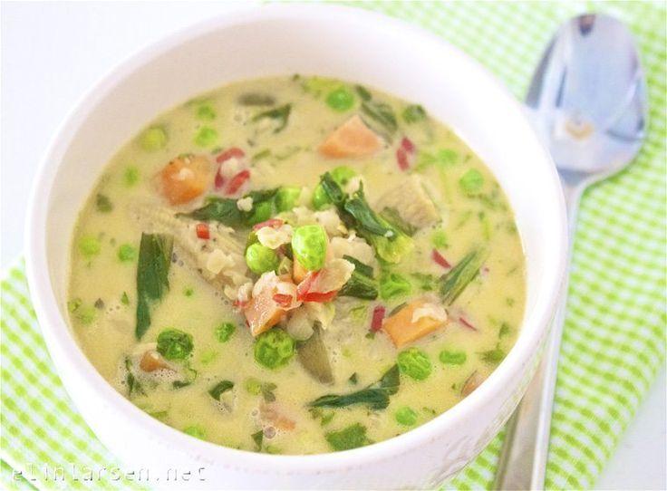 En nydelig og smakfull thailandsk suppe med grønnsaker og røde linser er dagens fristelse og middagstips. Thailandsk grønnsakssuppe med røde …