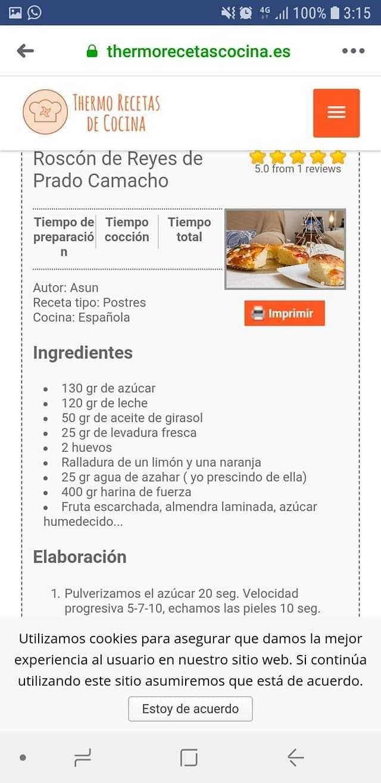 Pin De María Jose En Navidad Recetas De Cocina Aceite De Girasol Recetas