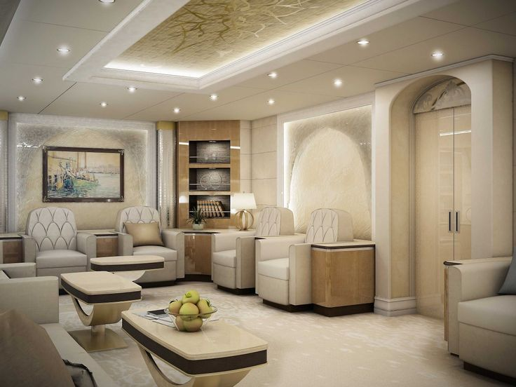 Boeing 747-8 VIP private jet - Make #travel super easy with a #PrivateJet. Enjoy from #AnticipationVilla