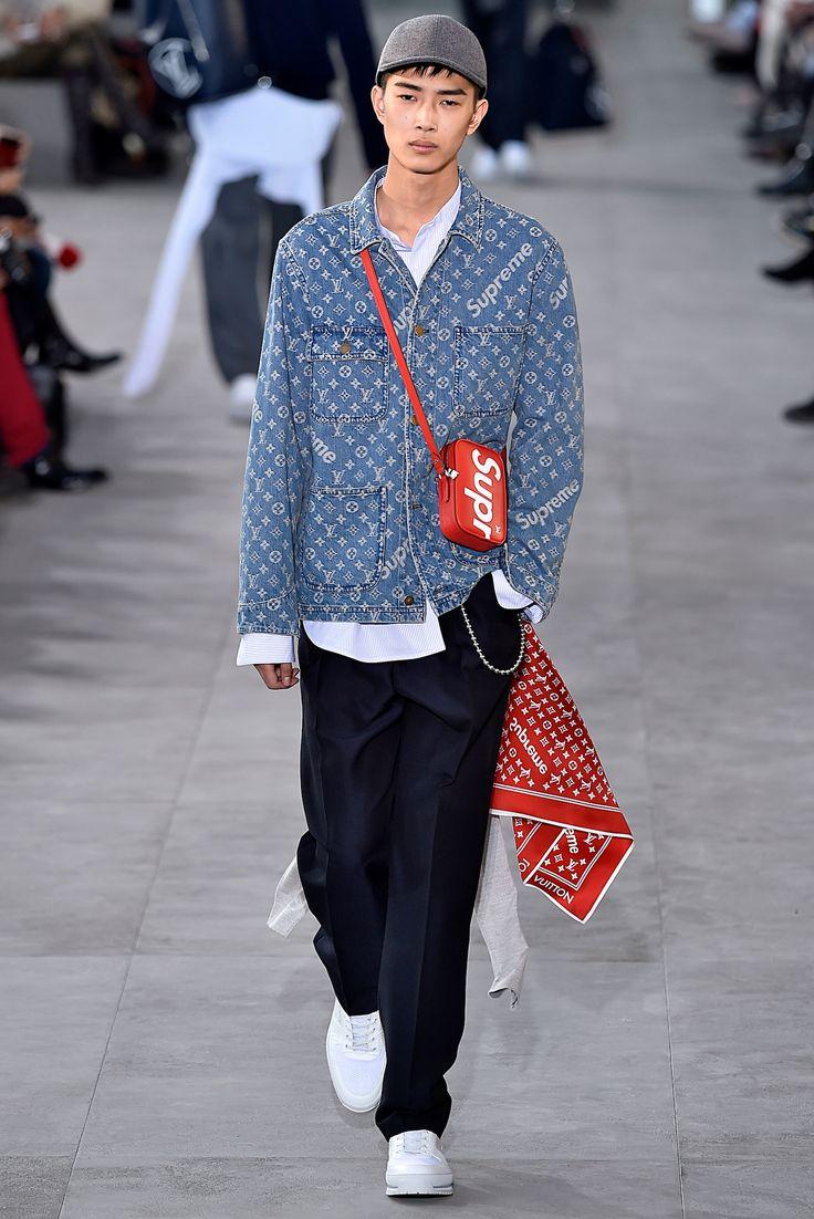 Louis Vuitton x Supreme Paris Men - Fall Winter 2017