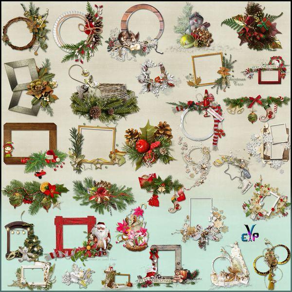 http://www.imagedite.com/2017/11/christmas-frames-cluster-clipart.html